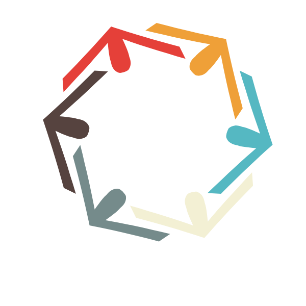 United logotype concept clip art