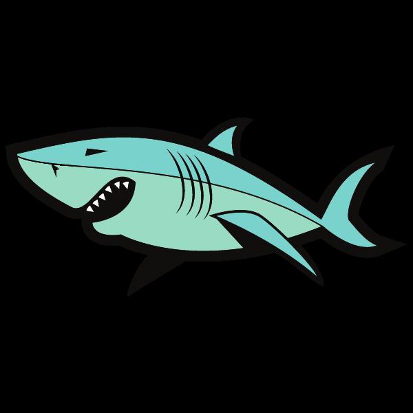 Shark fish clip art