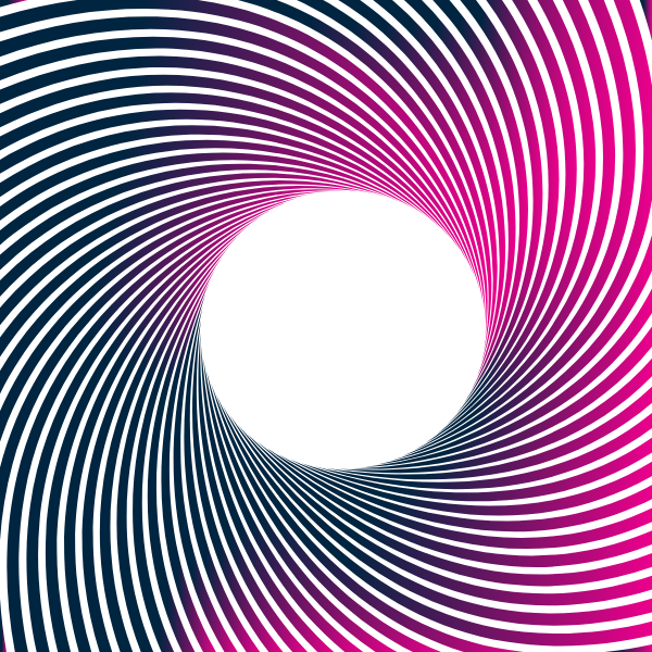 Stripes pattern swirl gradient color