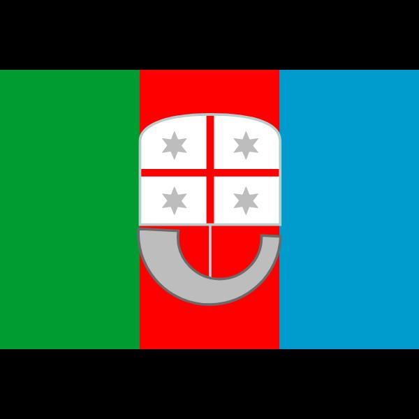 Flag of Liguria region