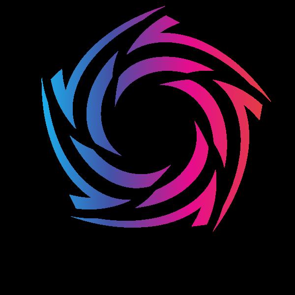 Logo concept graphic design element