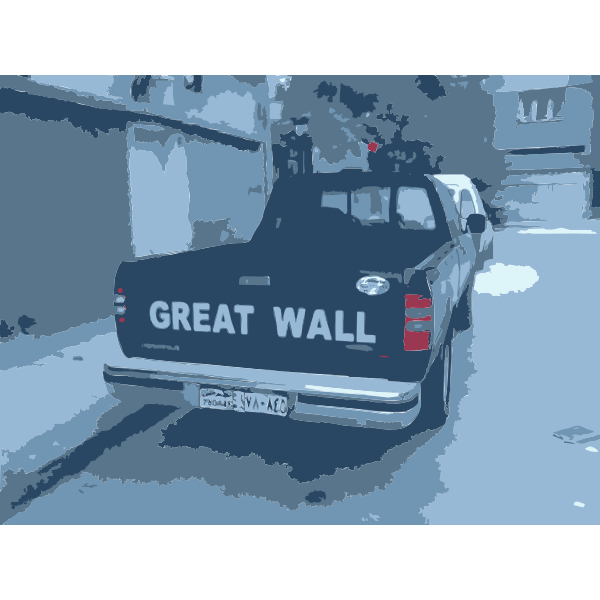 Great Wall Truck in Syria