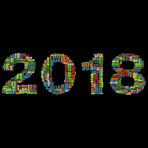 2018 Fractal Alphabet Pattern
