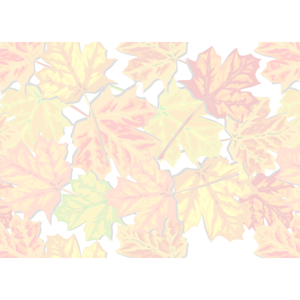 Background with leaves vector clip art