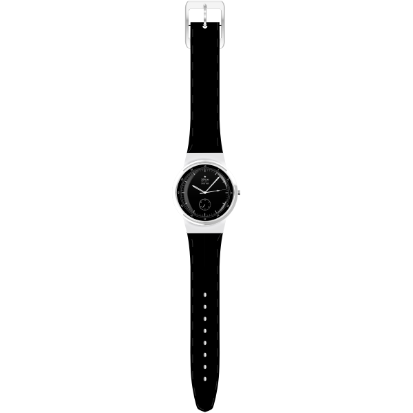 Vector illustration of a wristwatch