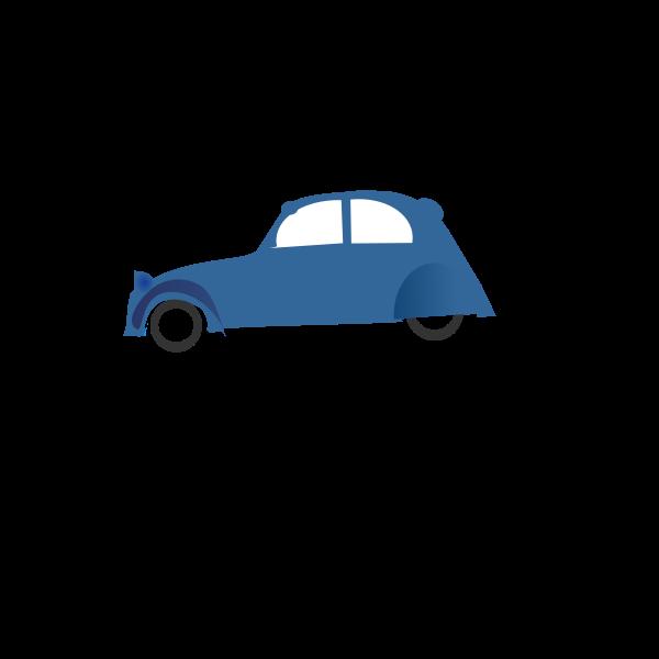 Cartoon vehicle vector