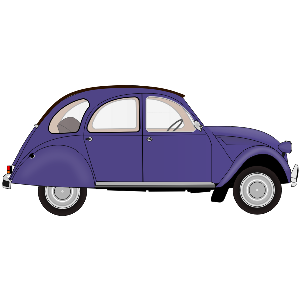 2CV car