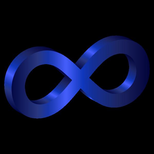 3D Infinity Symbol Variation 2