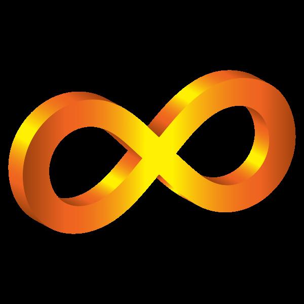 3D Infinity Symbol Variation 4