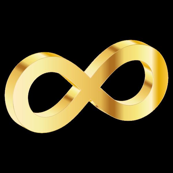 3D Infinity Symbol Variation 5