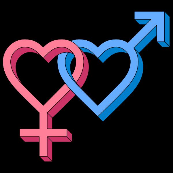 Gender Hearts