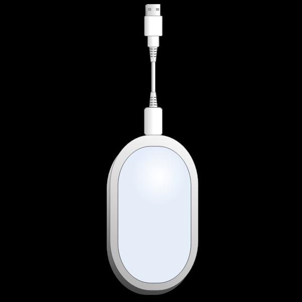 USB wireless broadband PC modem vector image