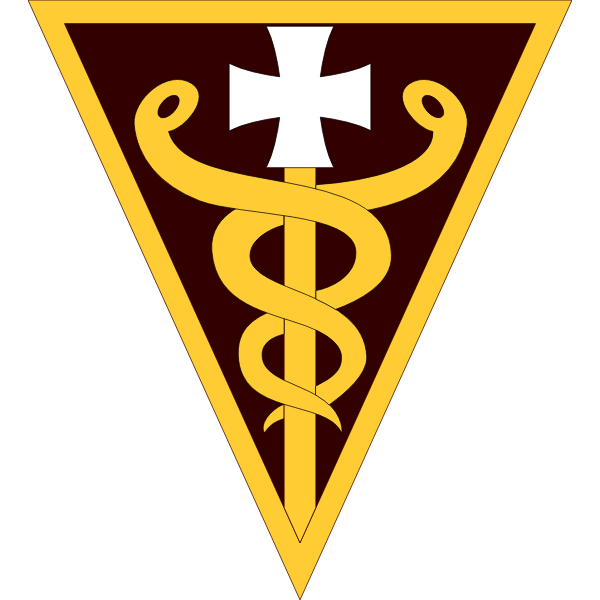 3rd Medical Command sign vector image