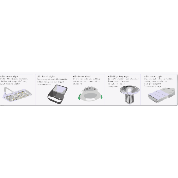 400W LED high bay light 2 2017061635
