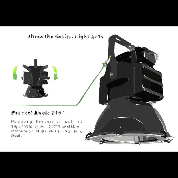400W LED high bay light 2017061635