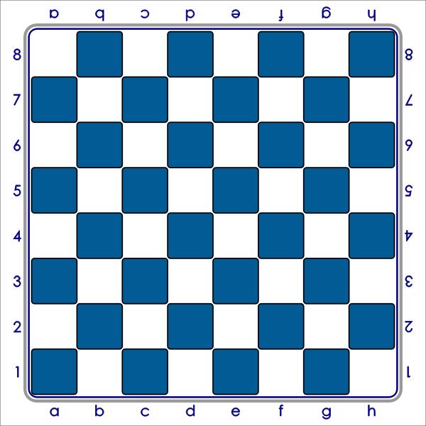 4 Tablero Standard Azul by DG RA