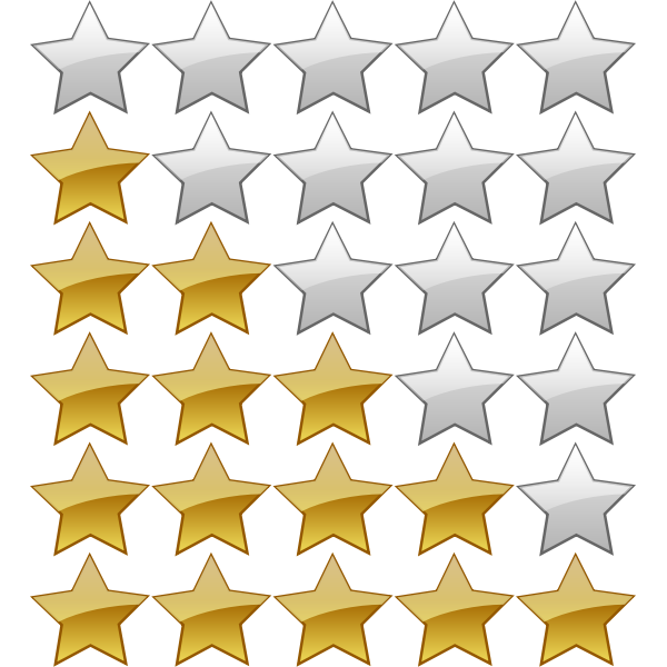 5 Star Rating System