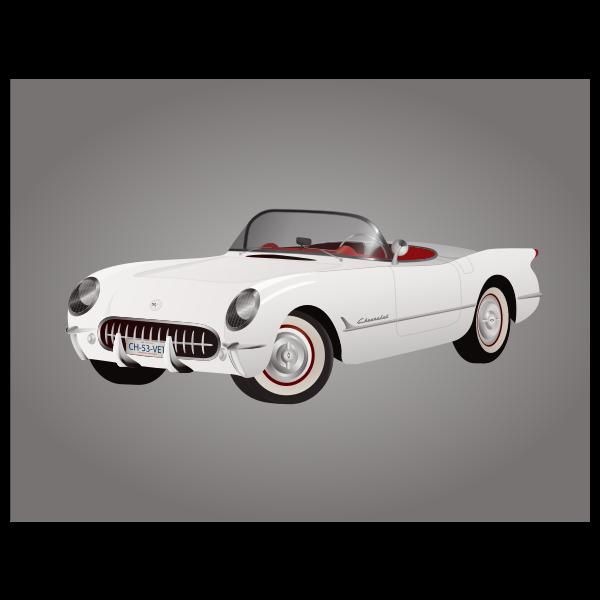1953 Corvette car model