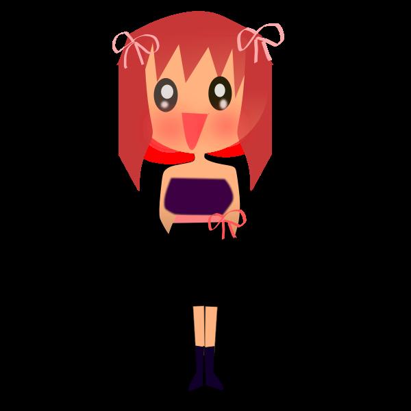 Female manga character