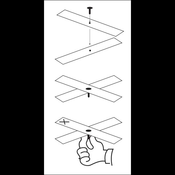 Diagram of construction of a Magic Carpet
