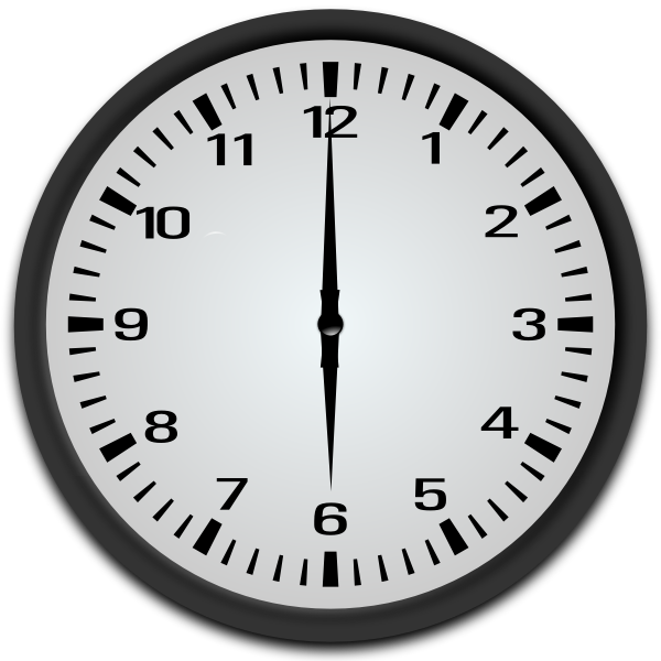 6 o clock