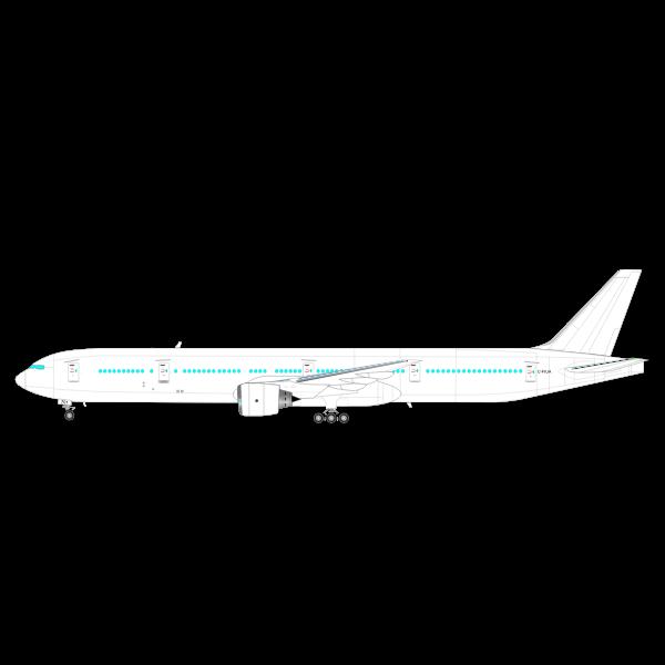 Boeing 777 Vector Graphics