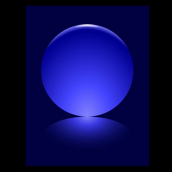 7 Blue Sphere