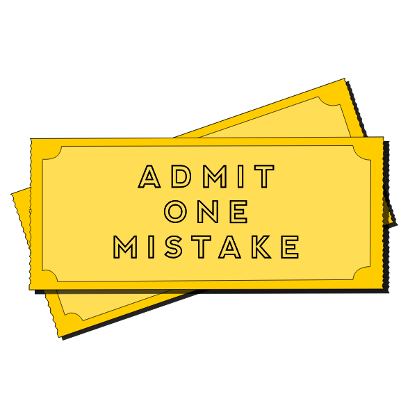 Mistake ticket