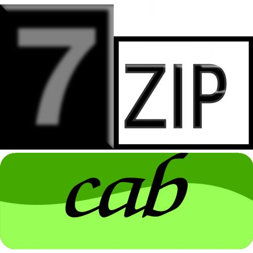 7zip Classic-cab