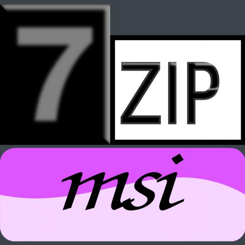 7zip Classic-msi icon