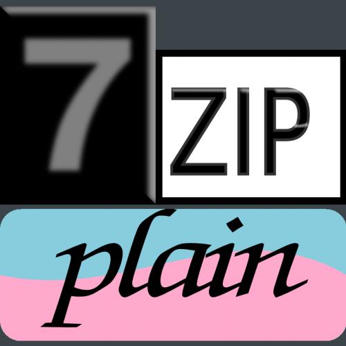 7zip Classic-plainzip