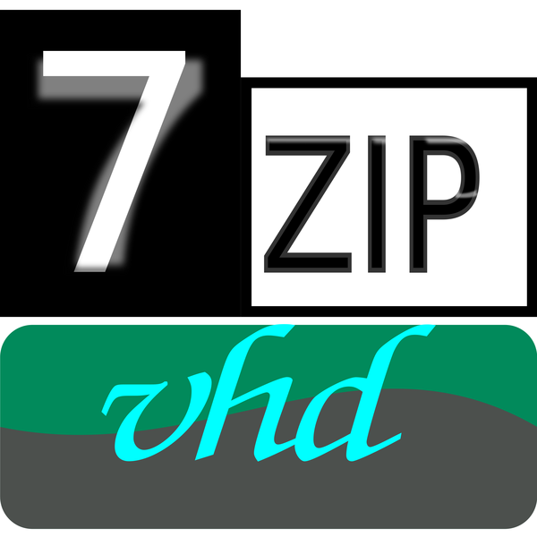 7zip Classic vhd