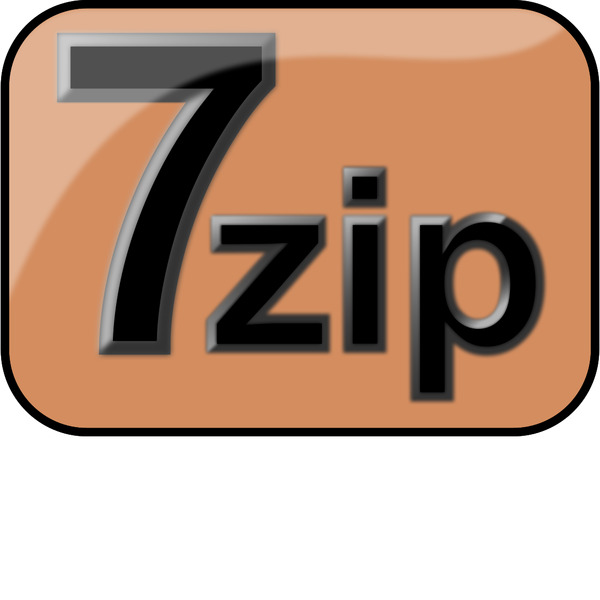 7zip Glossy Extrude Brown