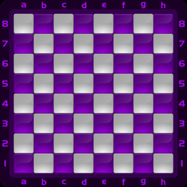 9 Chessboard Color Morado Clipart by DG RA