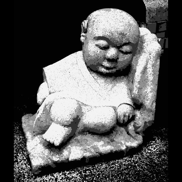 A monk chillin