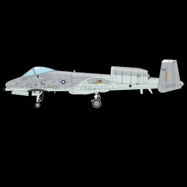 Tunderbolt airplane