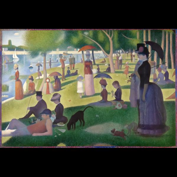 A Sunday on La Grande Jatte Georges Seurat 1884