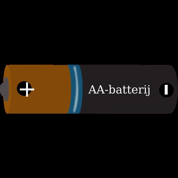 AA-battery vector image