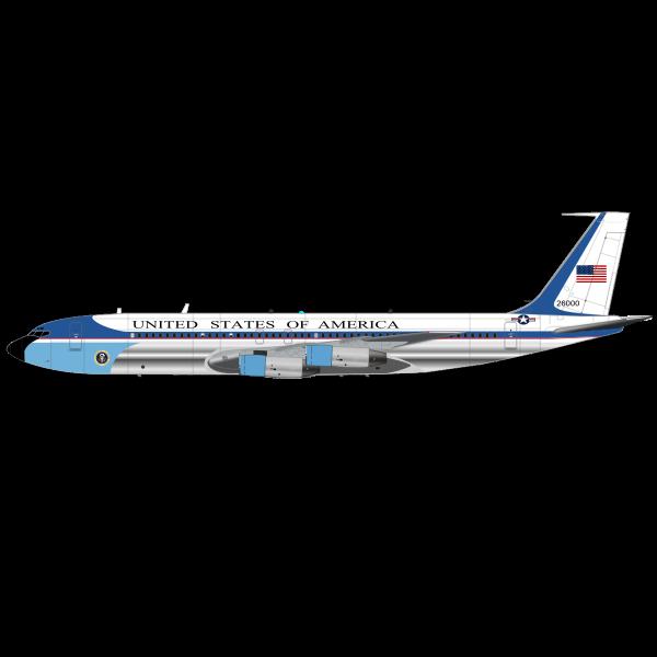 Air  Force One airplane