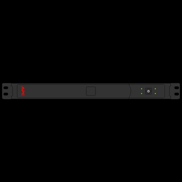 APC Smart-UPS SC 450 vector image