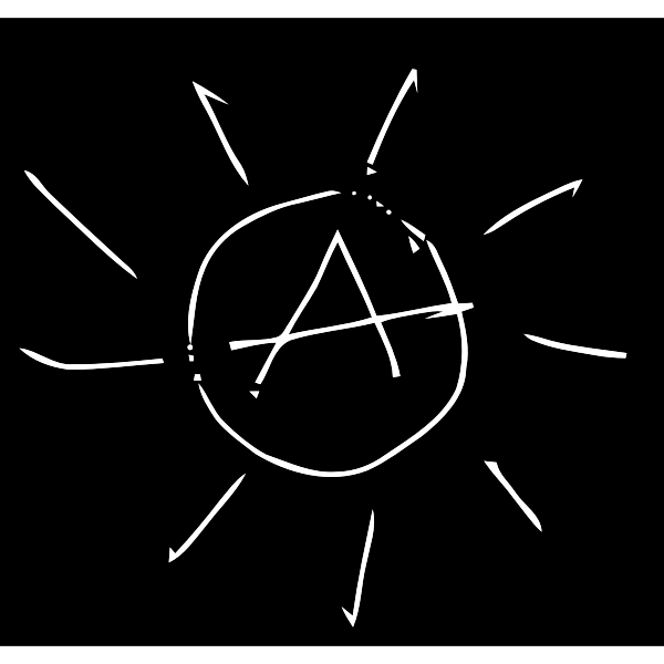 Simple drawing of the Sun