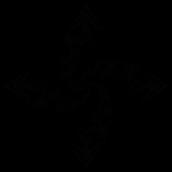 Abstract Arrows Vortex