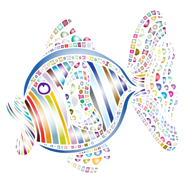 Abstract Colorful Fish 5