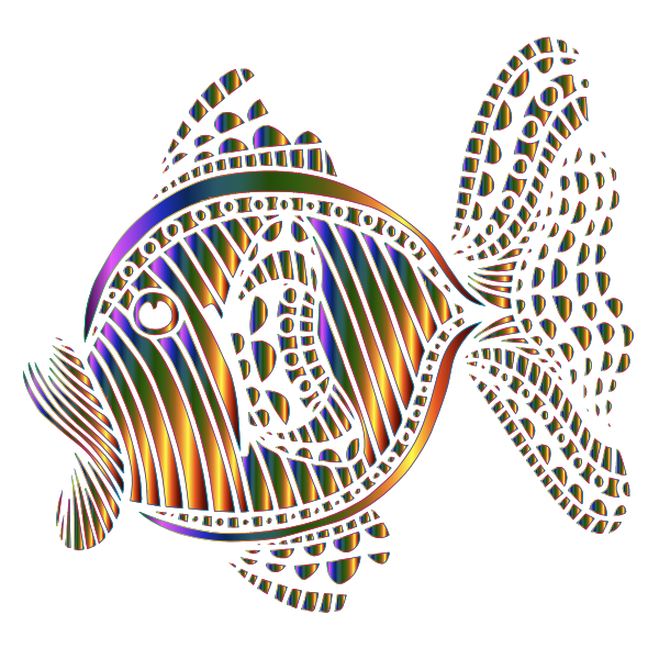 Abstract Colorful Fish 9