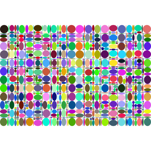 Abstract Ellipses Background Prismatic