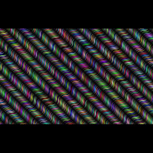 Abstract Geometric Monochrome Pattern Prismatic