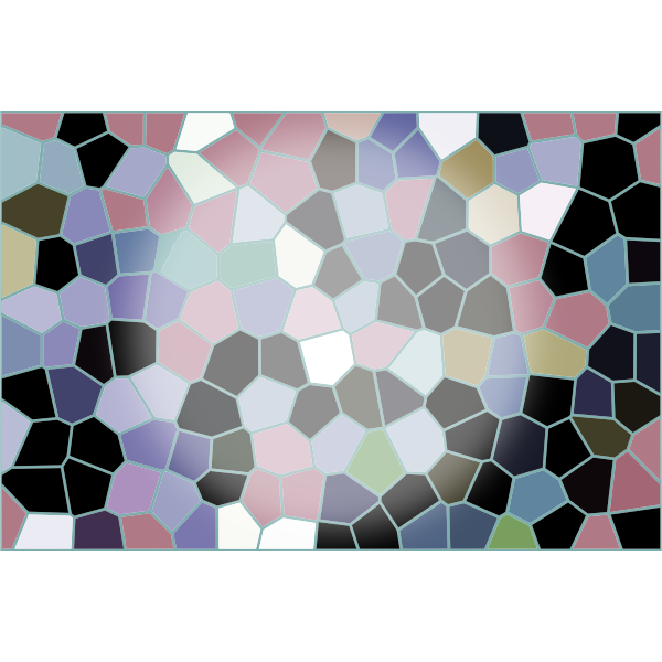 Abstract Mosaic Tiles Background