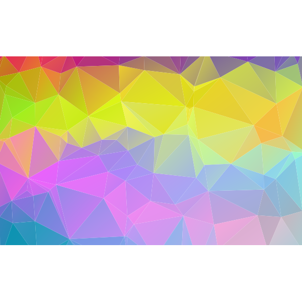 Abstract Polygon Background 16x10