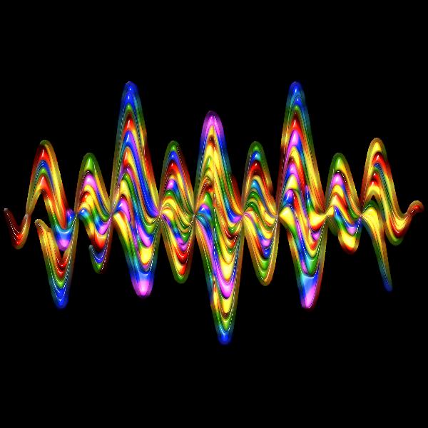 Abstract Rainbow Waves 3