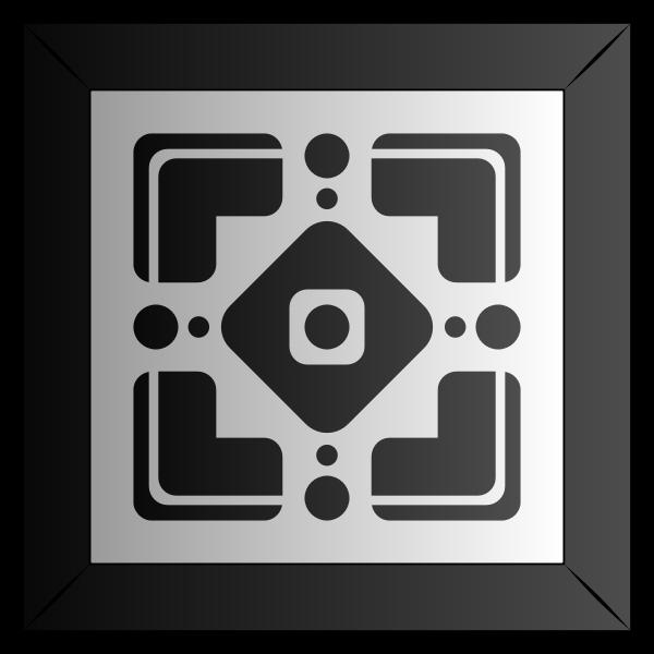 Abstract Tile 38